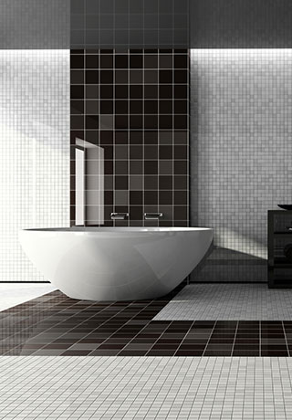 Mosaik Badezimmer Fliesen