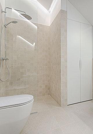 Fliesenplatten Mosaik Badezimmer